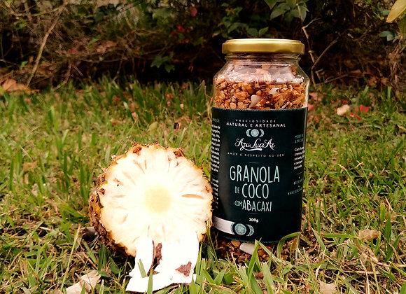 Granola Artesanal de Coco com Abacaxi