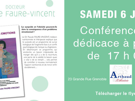 Conférence Arthaud - Grenoble