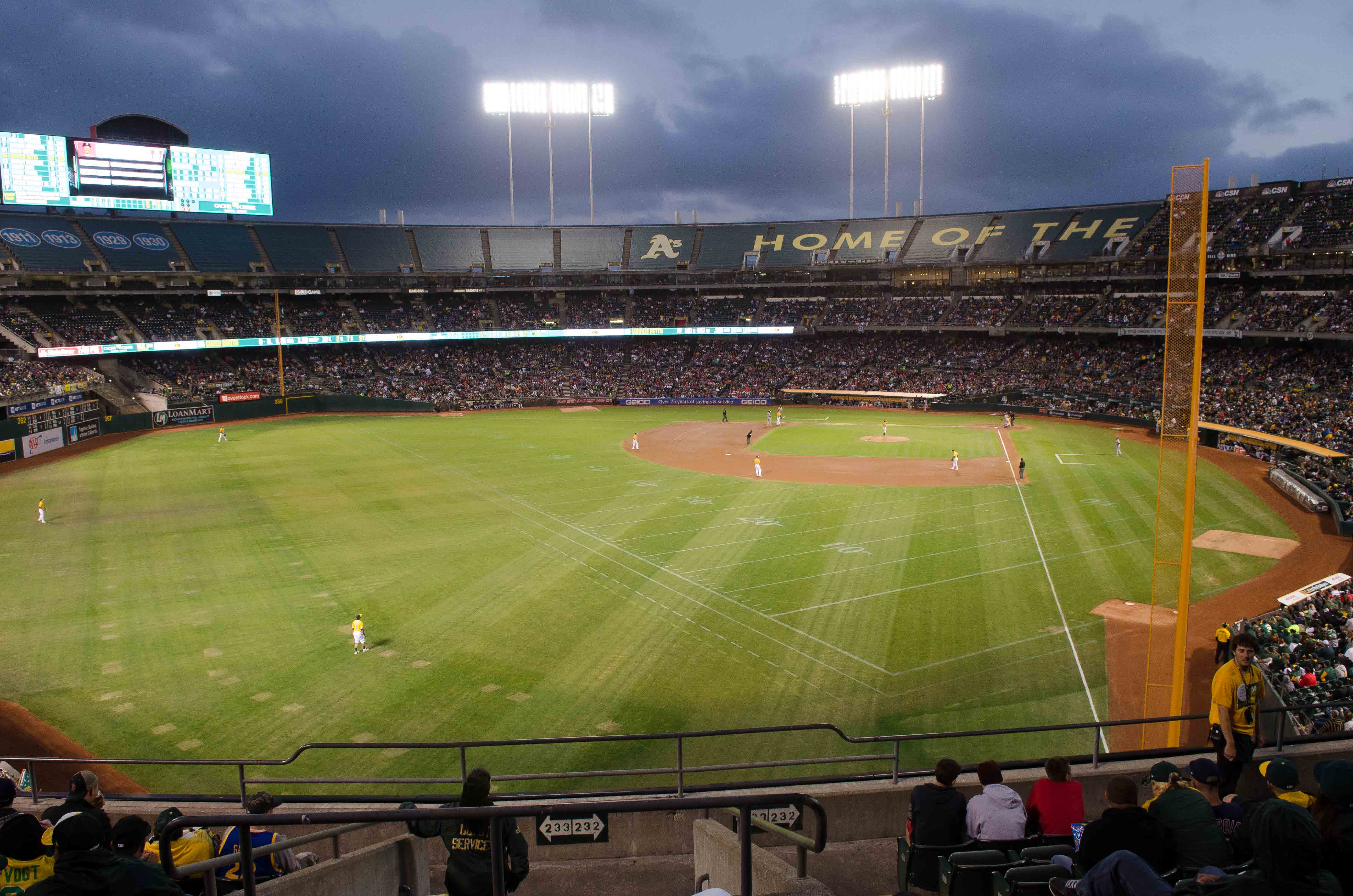 A's Game 9-3-16-31