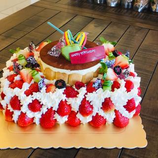 Strawberry Shortcake 1/4 sheet