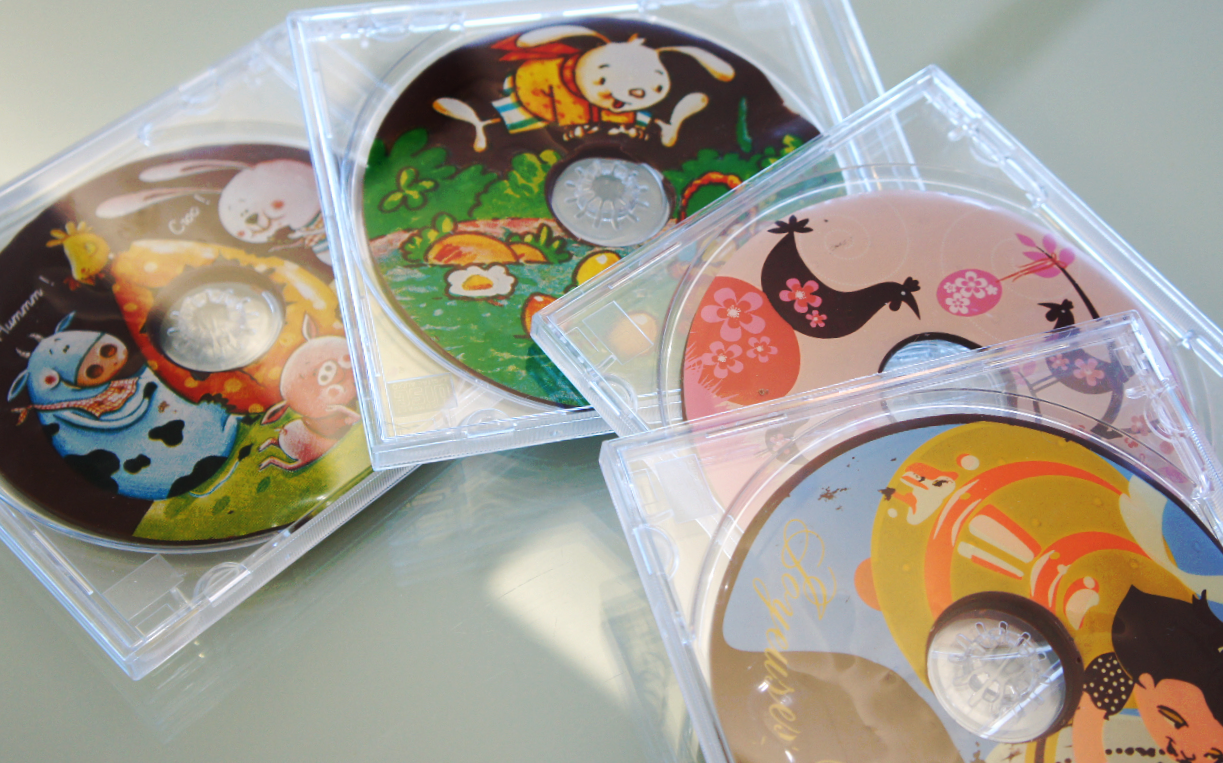 CW-028    Easter Chocolate CDs