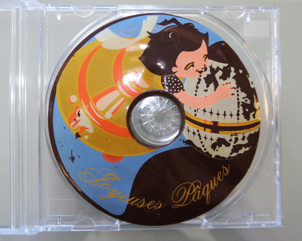 CW-026    Easter Chocolate CD