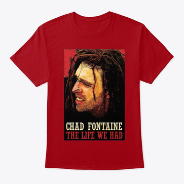 Chad Fontaine Life T-shirt Red.jpg