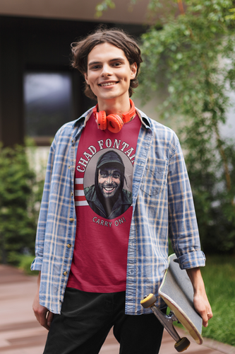 Chad Fontaine Carry On Tee Red.png