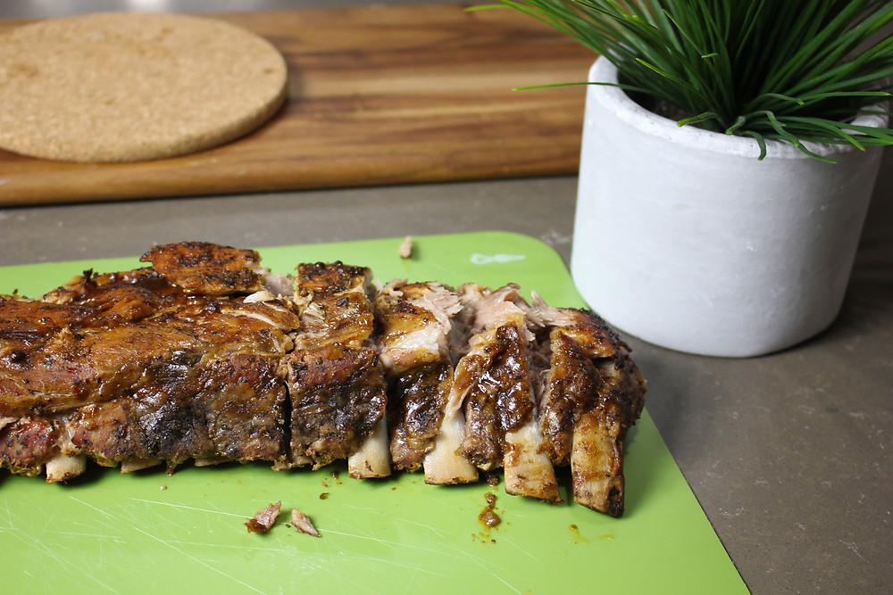 Dry BBQ Pork Back Ribs