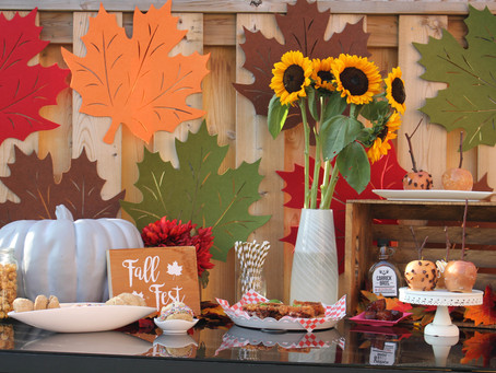 Fall Themed Table | Fall Fest | Fall Themed Photography