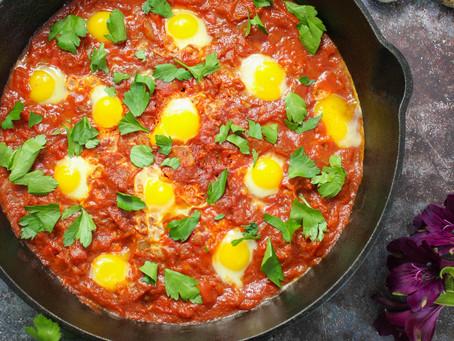 Shakshuka with Quail Eggs   Quail Eggs Recipe   Quail Eggs Benefits