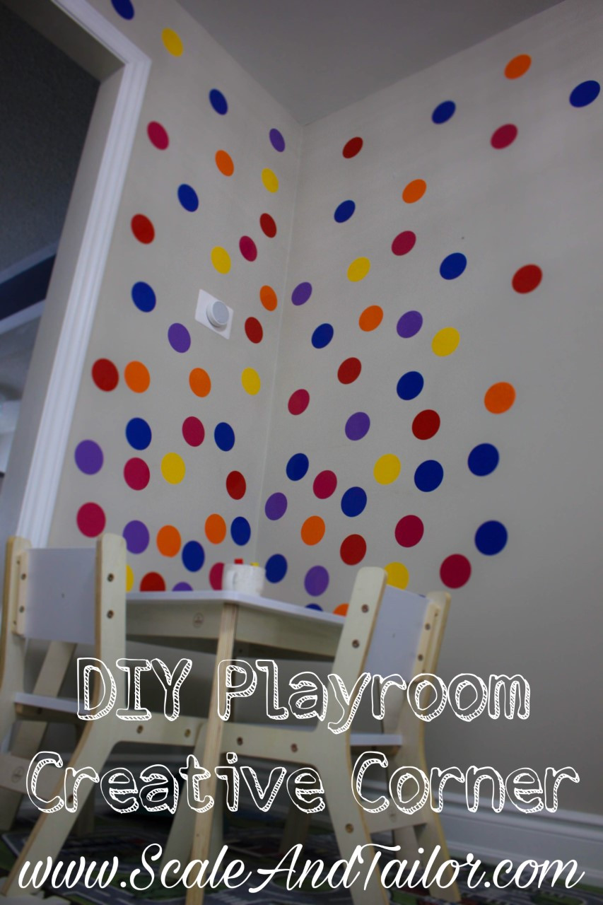 DIY Playroom Create Corner