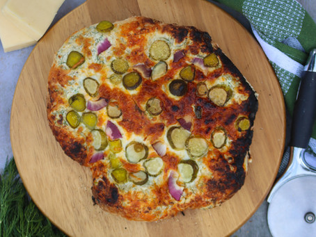 Pickle Pizza | Dill Pickle Pizza | Pickle Pizza Recipe