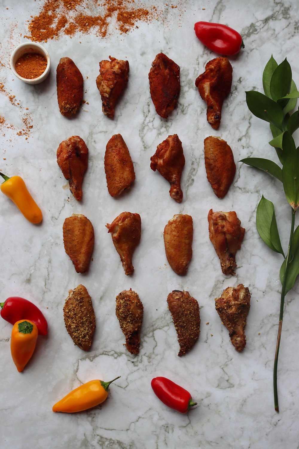 Smoked Chicken Wings. Smoked Chicken Wing Recipe. Canadian Chicken