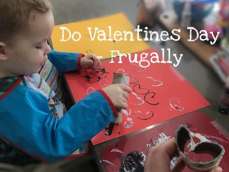 Do Valentines Day, Frugally
