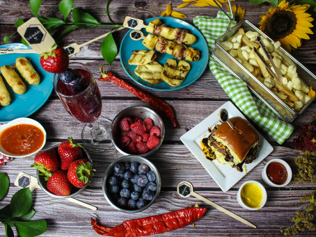Picnic Lunch | Picnic Food Ideas | Picnic Finger Foods