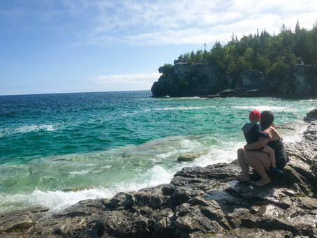 Camping Tobermory With A Toddler