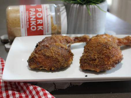 Smoked Pork Panko Chicken