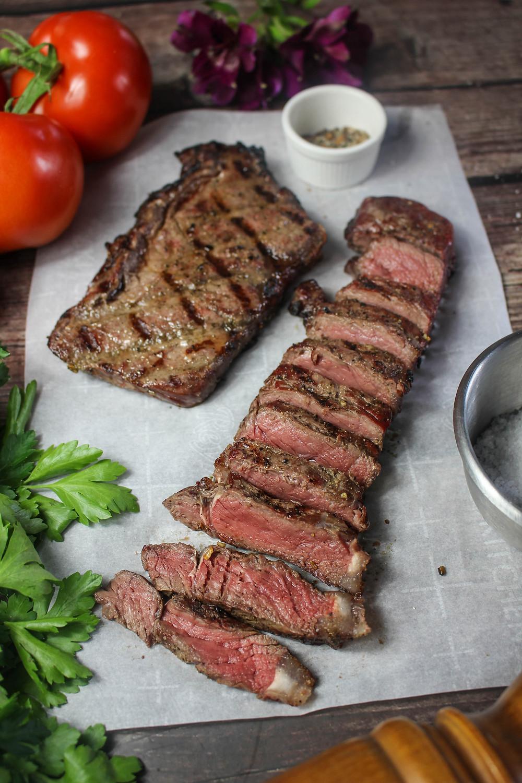 Bison Steak Recipe. Smoked Bison. Bison Steak