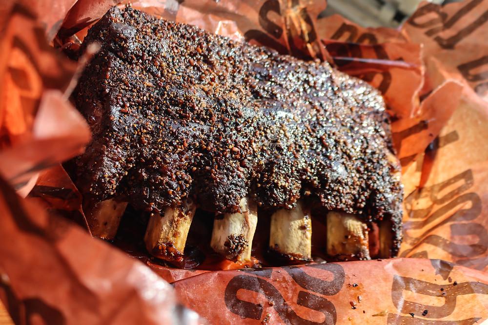 Beef Back Ribs.  Beef Back Rib Recipe.