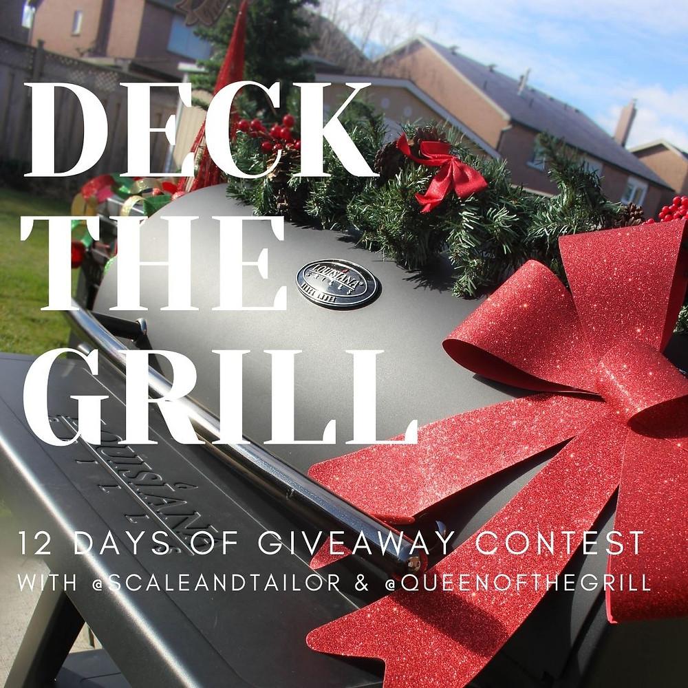 #DeckTheGrill 12 Days Of Grill-Aways