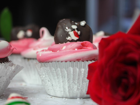 Peppermint Patty Cupcakes | Easy Christmas Dessert | Smoked Cupcakes