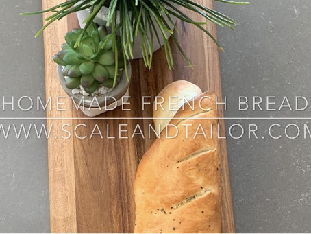 Homemade Fall French Bread