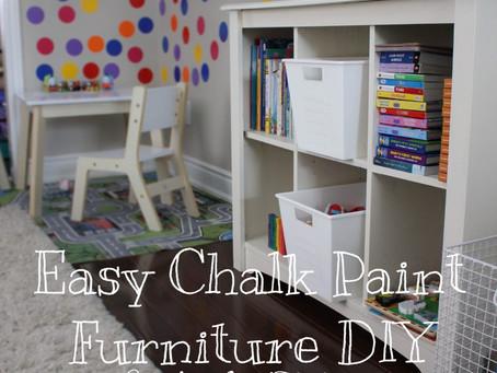 Easy Chalk Paint Furniture DIY