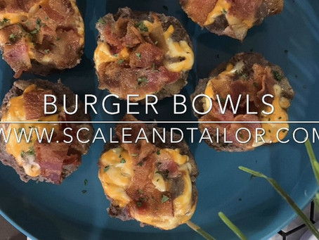 Burger Bowls | 30 Minutes
