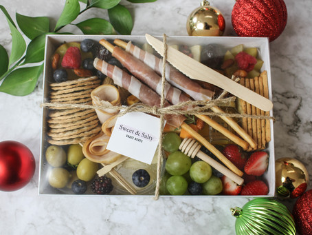 Charcuterie In A Box with Sweet And Salty Graze Boxes