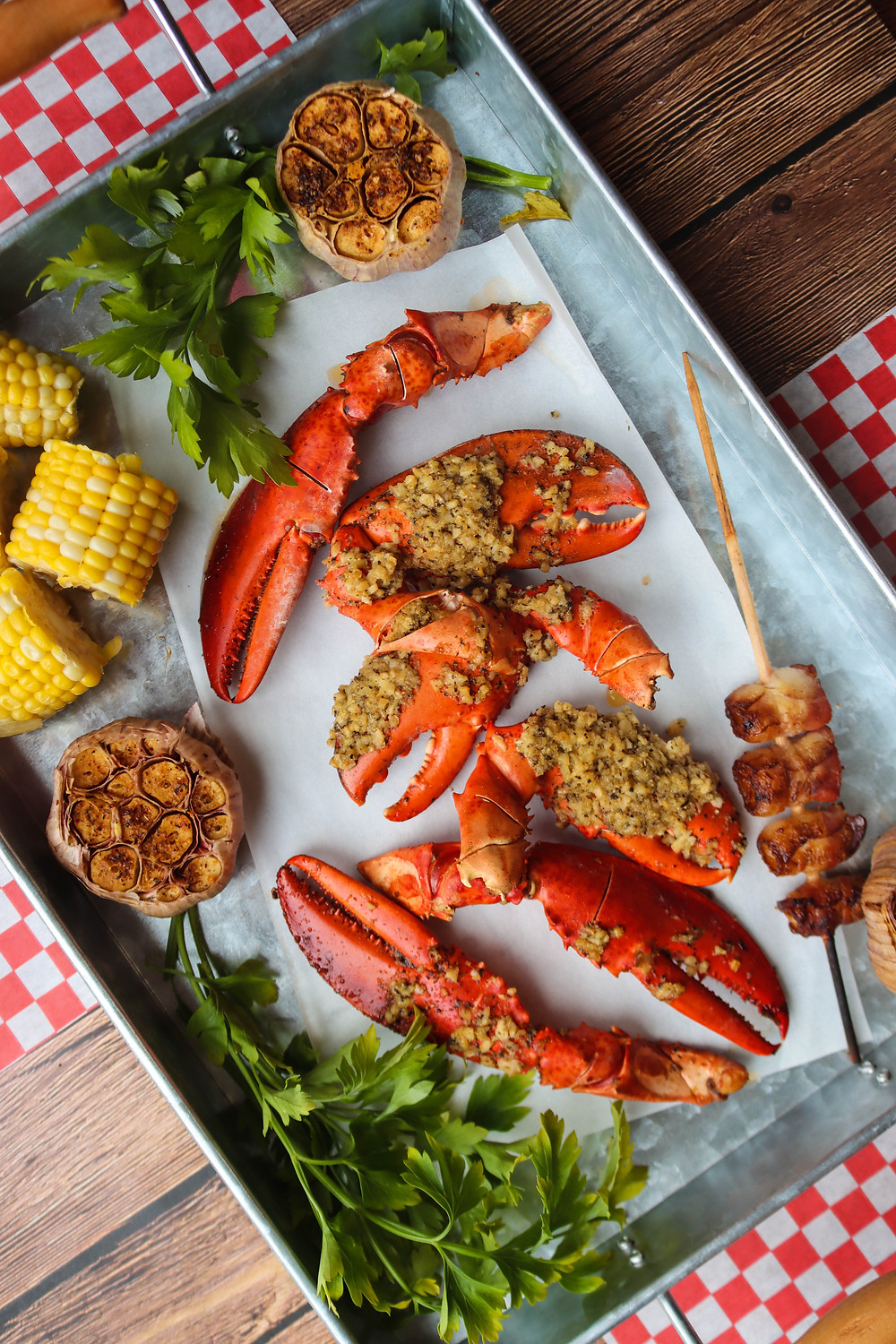 Smoked Lobster Claw. BBQ Lobster Claws.