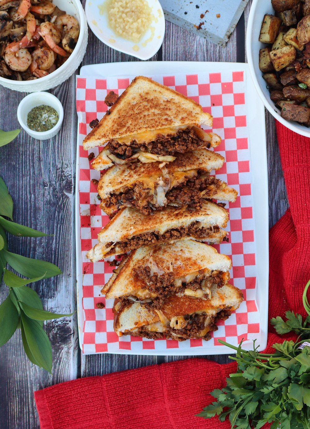 Taco Melts. Taco Melt Recipe. Pitboss Griddle Recipes