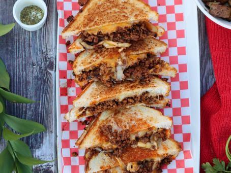 Taco Melts | Taco Melt Recipe | Pitboss Griddle Recipes