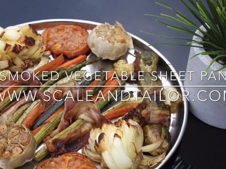 Smoked Vegetable Sheet Pan