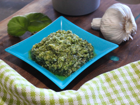 Homemade Pesto in 10 Minutes
