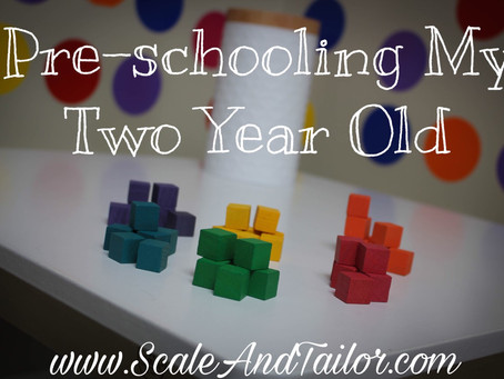Pre-Schooling My Two Year Old