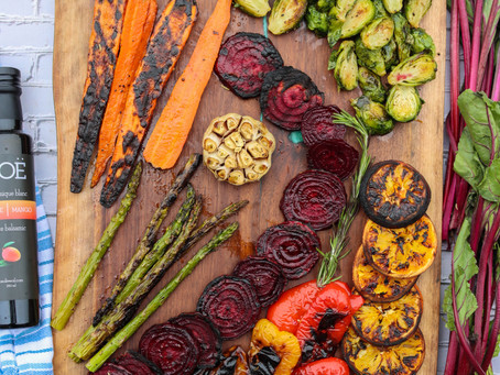 Balsamic Fire Roasted Vegetables | Smoked Veggies | Smoked Veggies Recipe