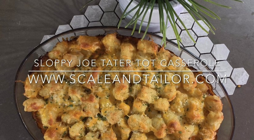 Sloppy Joe Tater Tot Recipe