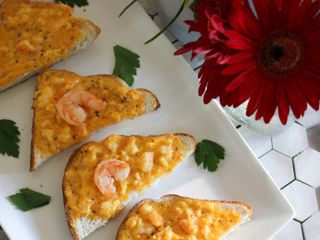 Shrimp Toasties