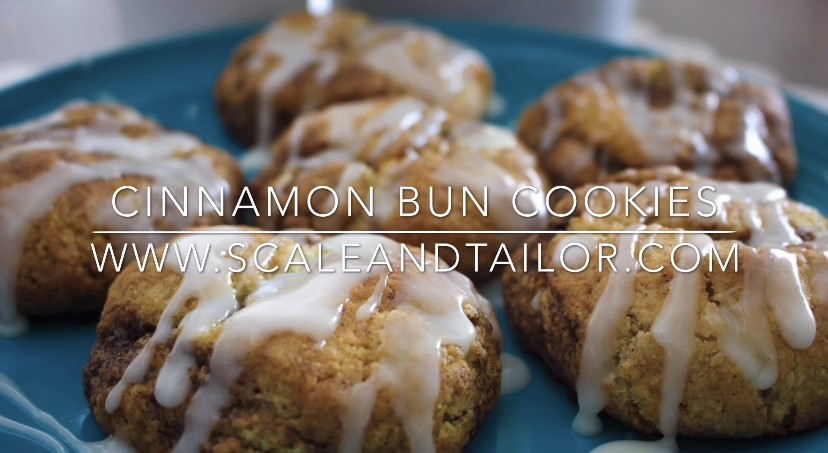 The Best Cinnamon Bun Cookies