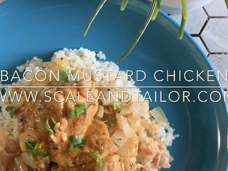 Bacon Mustard Chicken