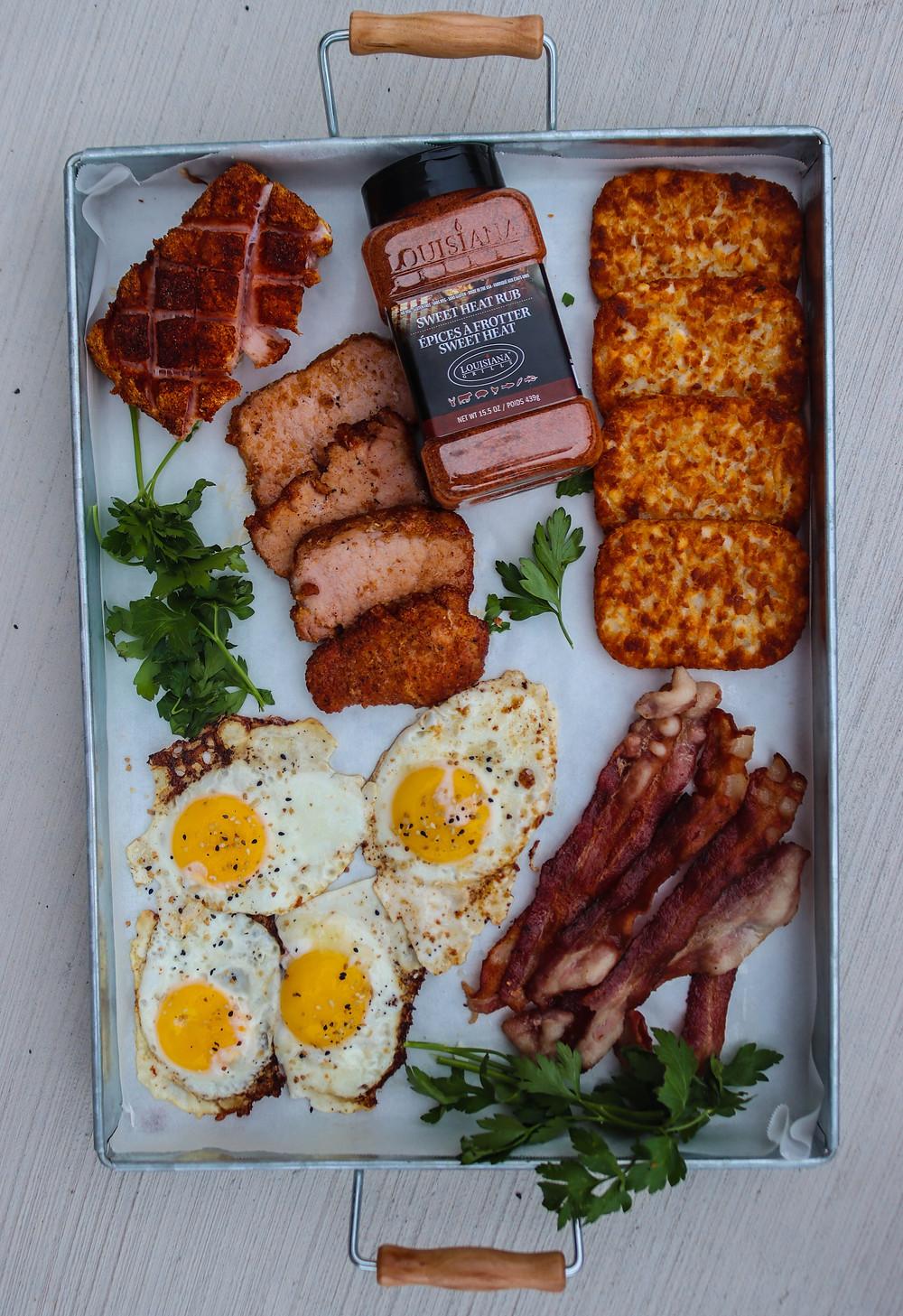 Peameal Bacon Recipes. Peameal Bacon on BBQ