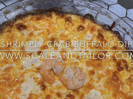 Shrimply Crab Buffalo Dip