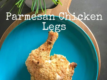 Parmesan Chicken Legs