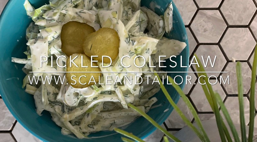 Pickle Coleslaw