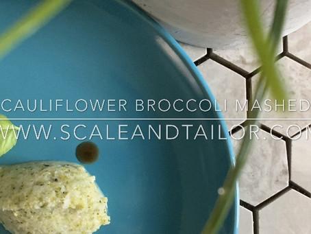 Cauliflower Broccoli Mashed