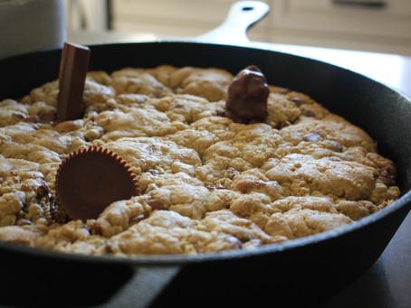 Stuffed Skillet Cookie