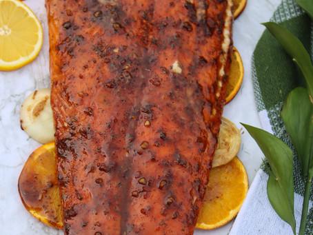 Maple Glazed Salmon | Smoked Salmon | Salmon on BBQ