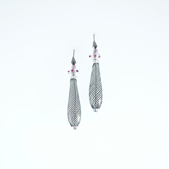 Ametista Filigrana Earrings