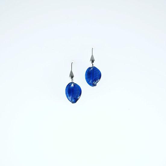 Cobalto Foglia Earrings