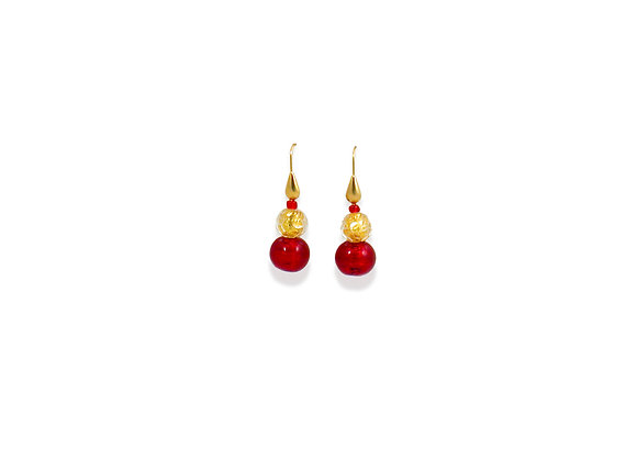 Oro Rubino Sommerso Earrings