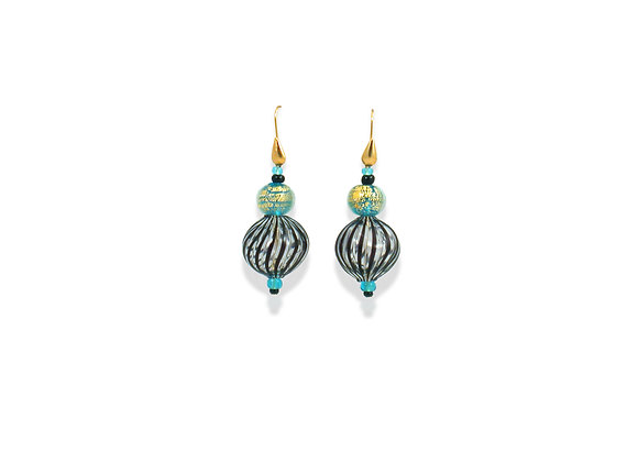 Filigrana Acquamare Soffiato Earrings
