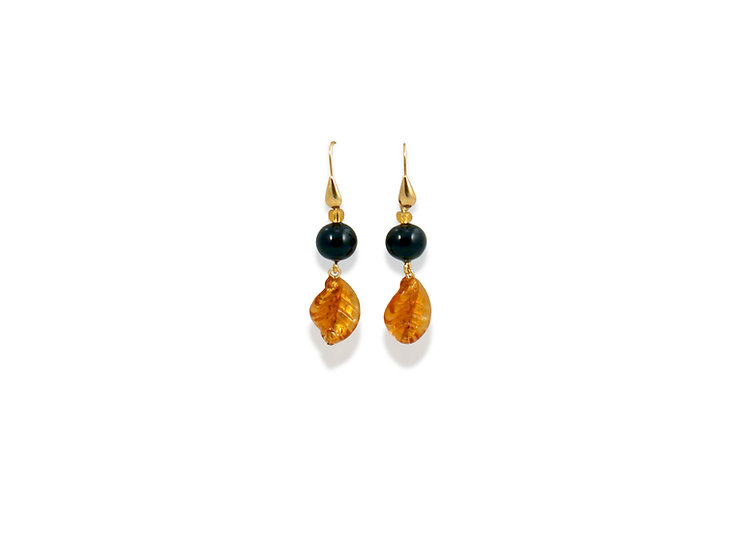Oro Sommerso Foglia Earrings