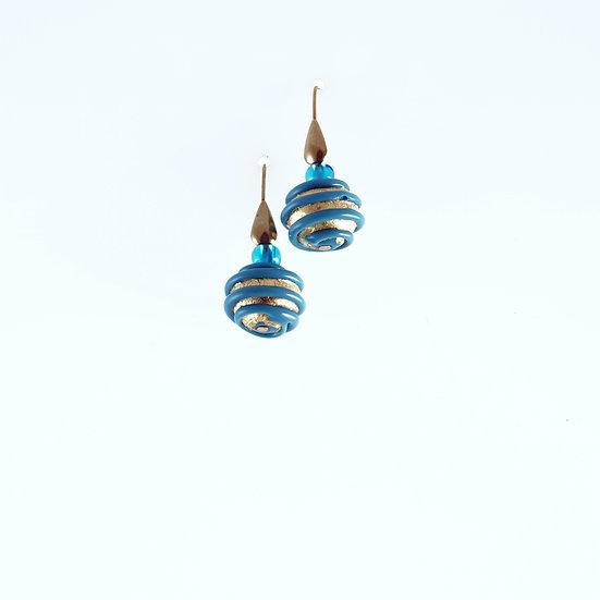 Acqua Spirale Earrings